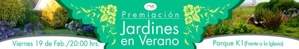 Premiación Concurso de Jardines
